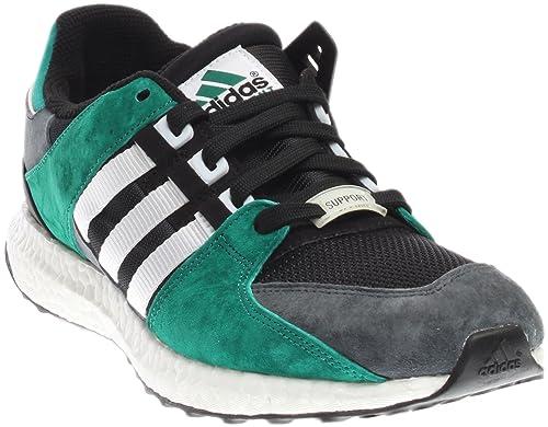 adidas Equipment Support 93 16 Mens in Black White Subgreen, 9 0394e3a7ea