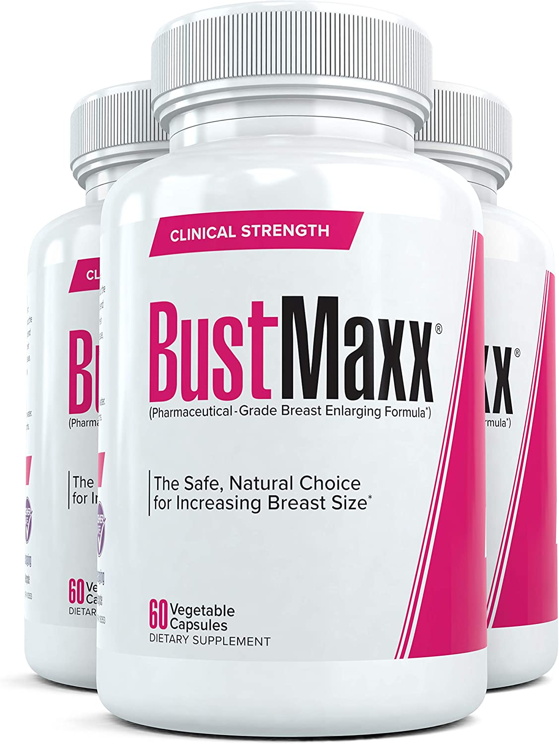 Amazon Com Bustmaxx 3 Bottles The Most Trusted Breast