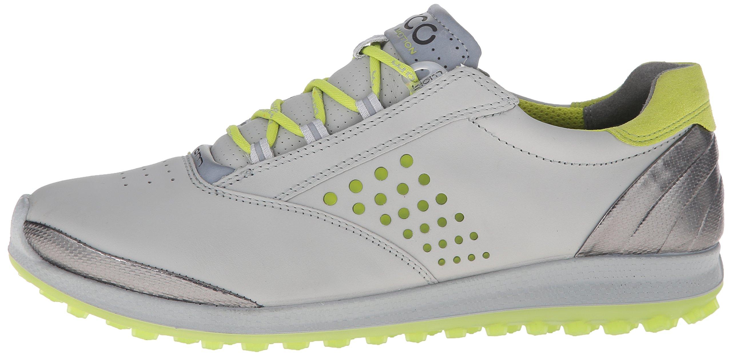 Ecco Women's Golf Biom Hybrid 2, Damen Golfschuhe, Beige - Oyester/Orange Leather - Größe: 36-36,5 EU F