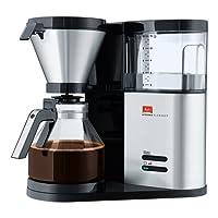 Melitta, Filterkaffeemaschine mit Glaskanne, Aroma Elegance, Aromaschalter
