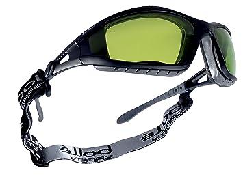 """Bollé TRACWPCC2 talla única sombra 1.7 """"control de soldadura gafas de seguridad – negro"""