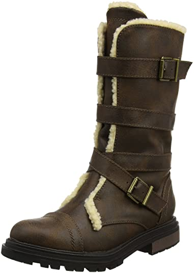 Rocket Dog Thunder, Bottes Femme - Marron (Brown) - 36 EU