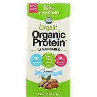 Orgain Milk Almond Organic Unsweetened, 32 oz