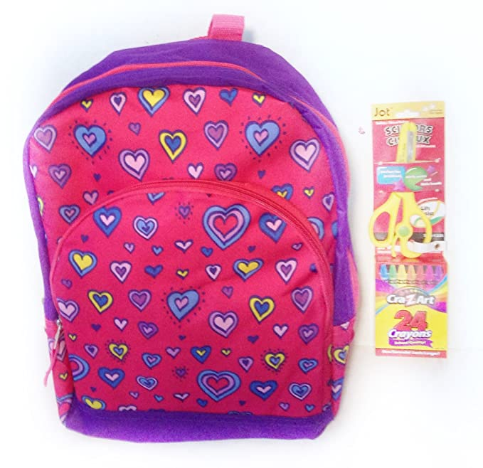 9472525eb Amazon.com | Back to school backpack with a pair of scissor and ...