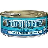 ナチュラルバランス キャットフード キャット缶 ツナ&シュリンプ 5.5オンス(156g)×24缶(ケース販売)