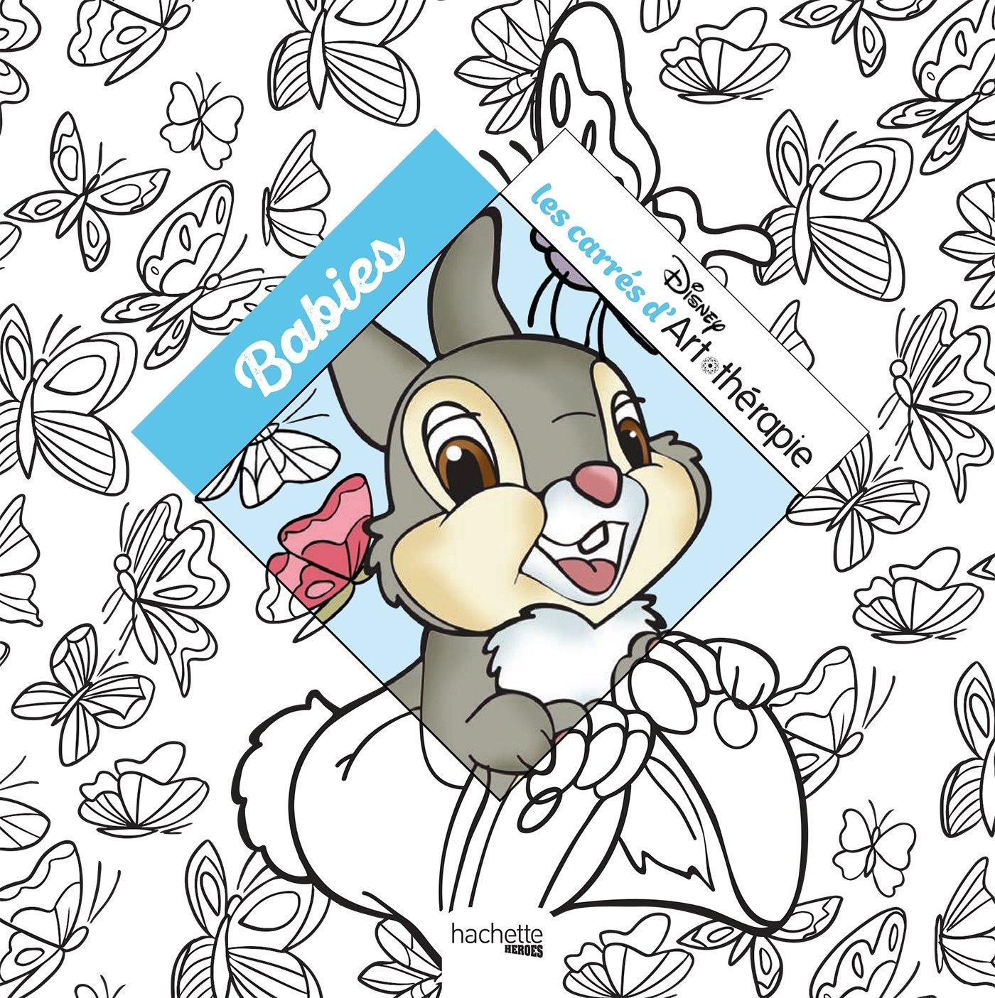 Disney babies Carrés  colorier Amazon Jean Luc Guérin Audrey Bussi Disney Livres