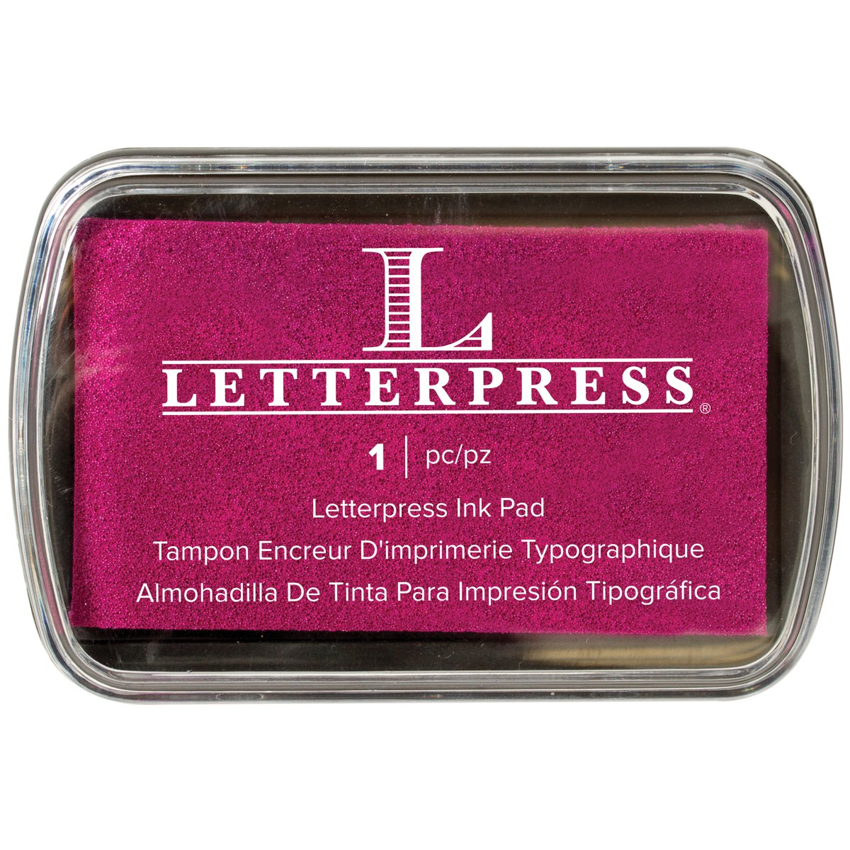 We R Memory Keepers Letterpress tampone di Inchiostro Fucsia 512472