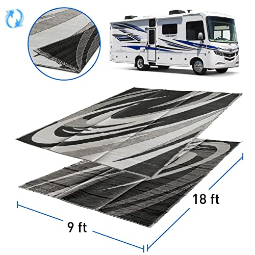 Easy Go Products Camping Outdoor Patio Reversible RV Mat