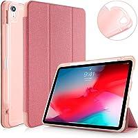 "Capa Apple iPad Pro 11"" WB Premium Antichoque Tecido Rosa Com Compartimento para Apple Pencil"