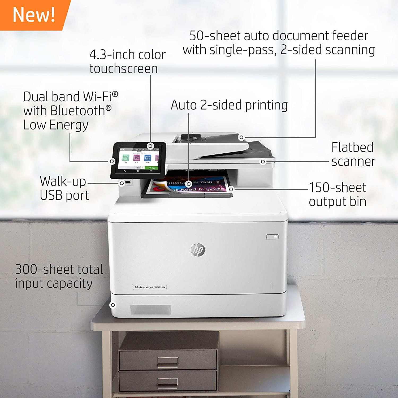 Amazon.com: HP Color Laserjet Pro Multifunction Interno ...