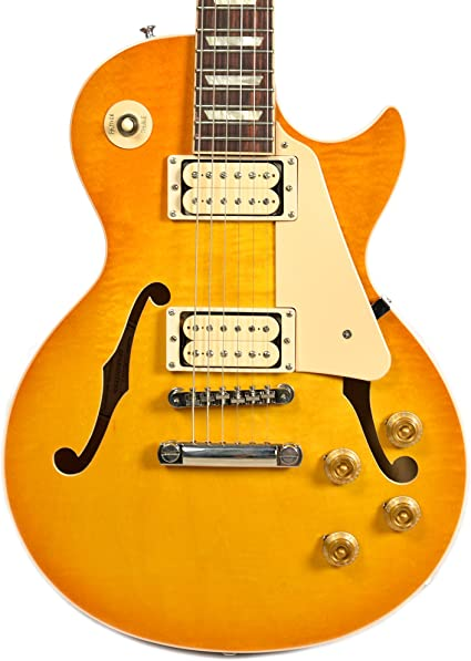 Gibson Memphis es-lp limón ráfaga doble crema vos NH: Amazon.es ...