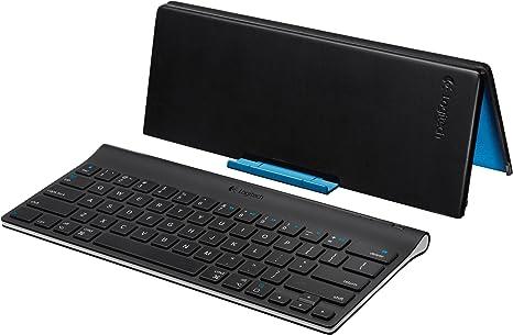 Logitech Tablet Keyboard for iPad - Teclado (Bluetooth, Negro, AAA, iPad 2, iPad)