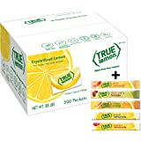 True Lemon Bulk Packets 500ct; plus 5 sticks of variety flavors lemonade