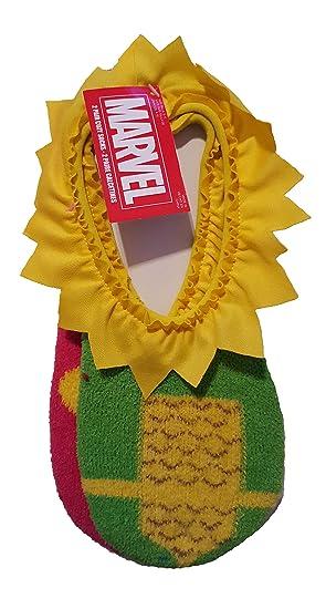 Marvel Loki Womens 2 Pair Cozy Slipper Socks (Size 9-11)