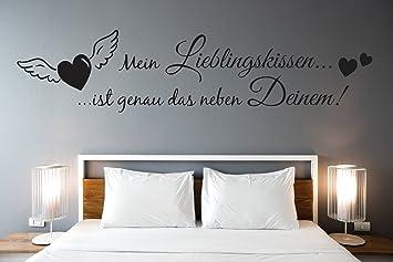tjapalo® s-pkm303 wandtattoo schlafzimmer liebe Wandtattoo ...