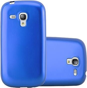 Cadorabo Funda para Samsung Galaxy S3 Mini en Metallic Azul: Amazon.es: Electrónica