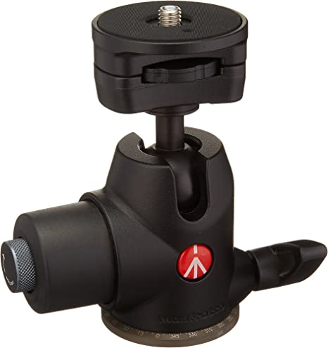 Renewed 468MGRC2 Manfrotto Hydrostatic Ball Head with RC2 Rapid Connect System