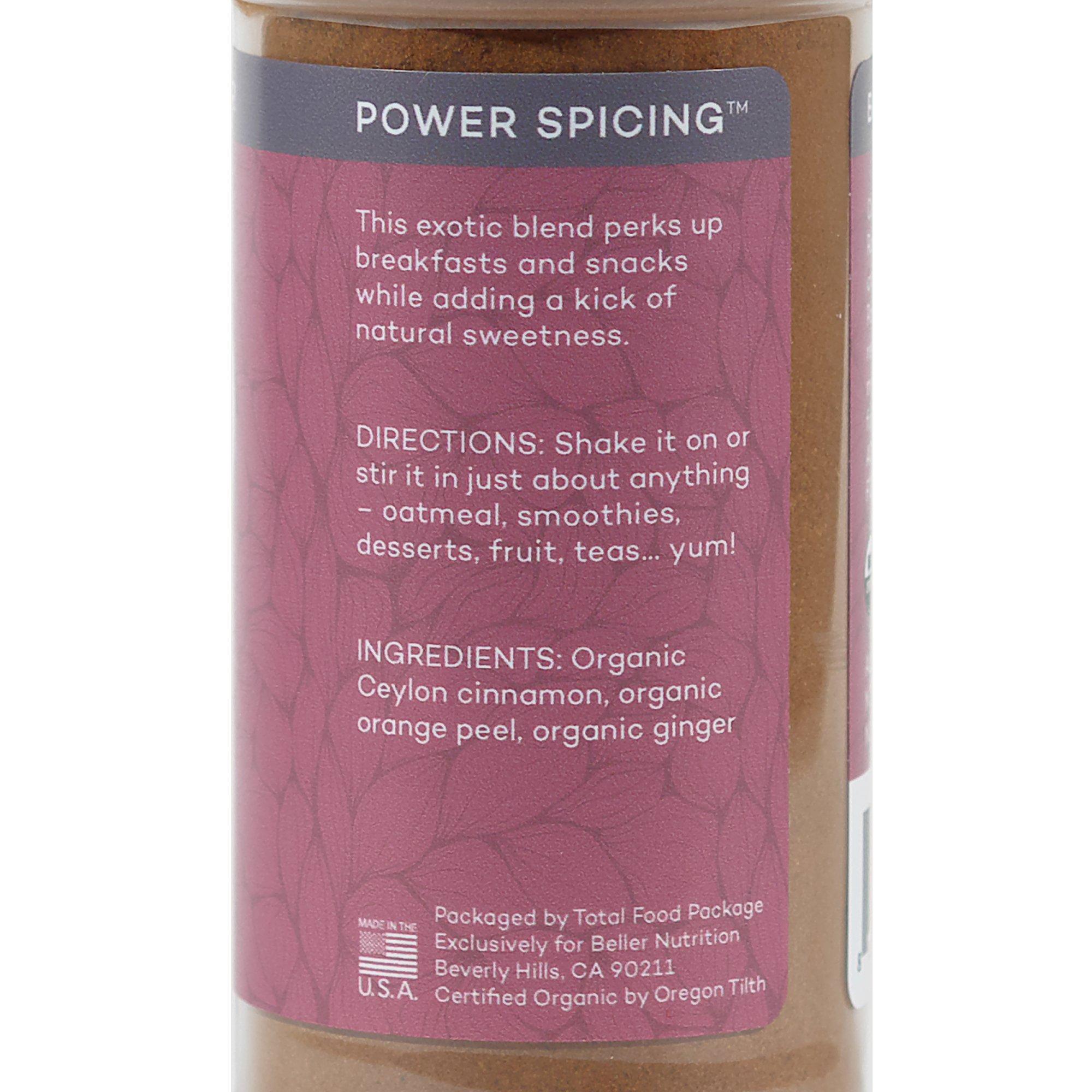 Rachel Beller's Power Pantry CinnaPeel Spicer - All organic Ceylon cinnamon, orange peel, and ginger spice blend, 3.4 ounce by Rachel Beller's Power Pantry (Image #5)