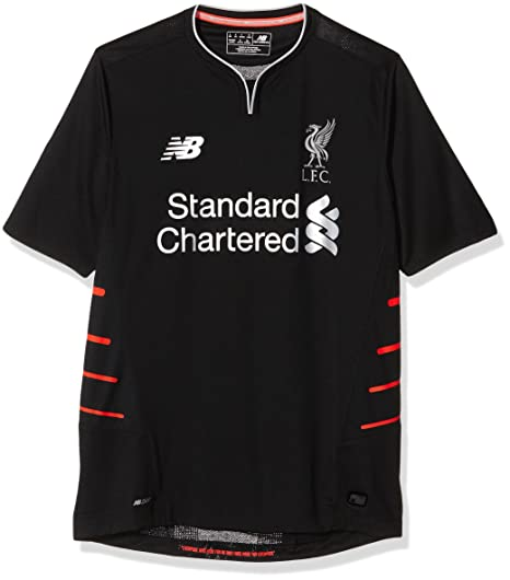 separation shoes ae106 6aae5 New Balance 2016-2017 Liverpool Away Football Soccer T-Shirt Jersey