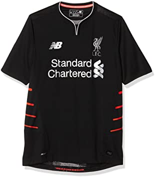 3904dc5d7c4 New Balance Men s LFC Away Short Sleeve Football Jersey  Amazon.co ...