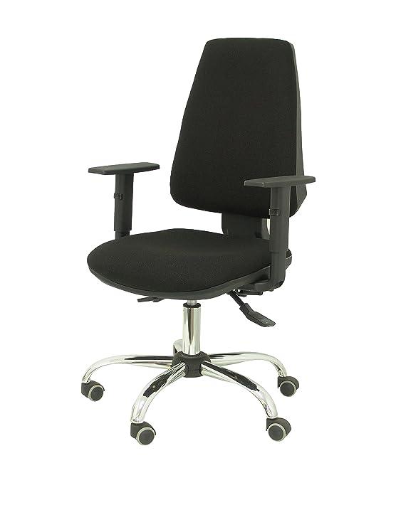 Piqueras y Crespo Silla de Oficina, Color Negro, 61x33x65 cm: Amazon.es: Oficina y papelería