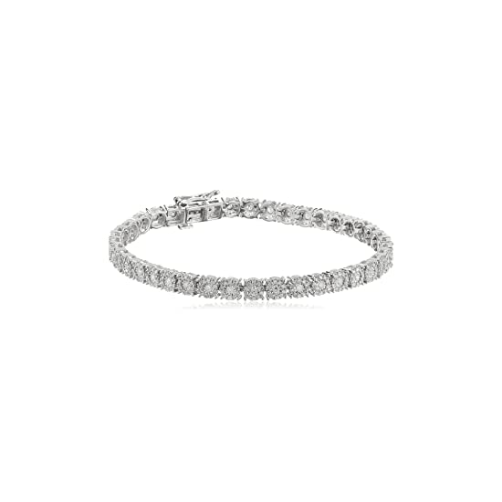 Bracelet for Women, Silver, 2017, One Size Italian Finest Jewelry