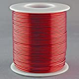 Mss magnet wire copper wire awg 305 single enamel insulation magnet wire 18 gauge awg enameled copper 200 feet coil winding and crafts red greentooth Image collections