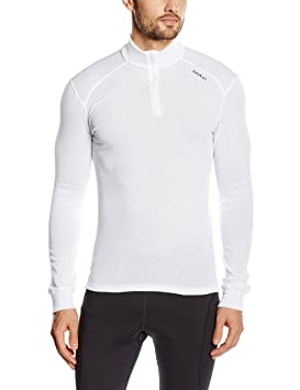 Odlo 152002 T-Shirt Homme Blanc FR : S (Taille Fabricant : S)