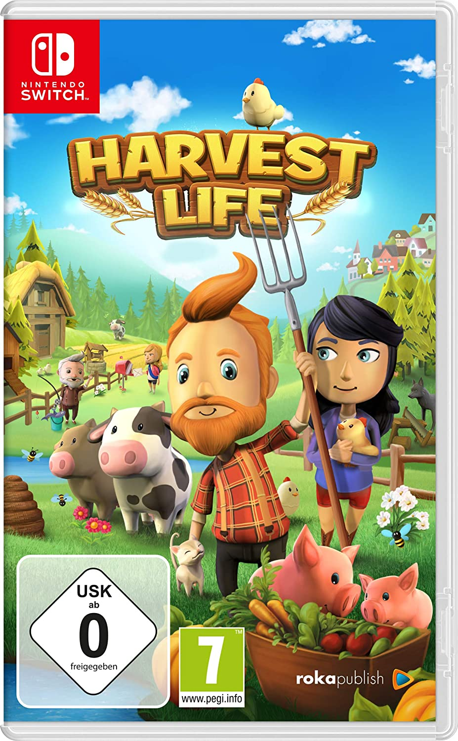 Harvest Life (Nintendo Switch): Amazon.es: Videojuegos