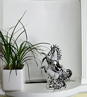 Hand Made in Cornwall Horse Lying Down Pewter Ornament