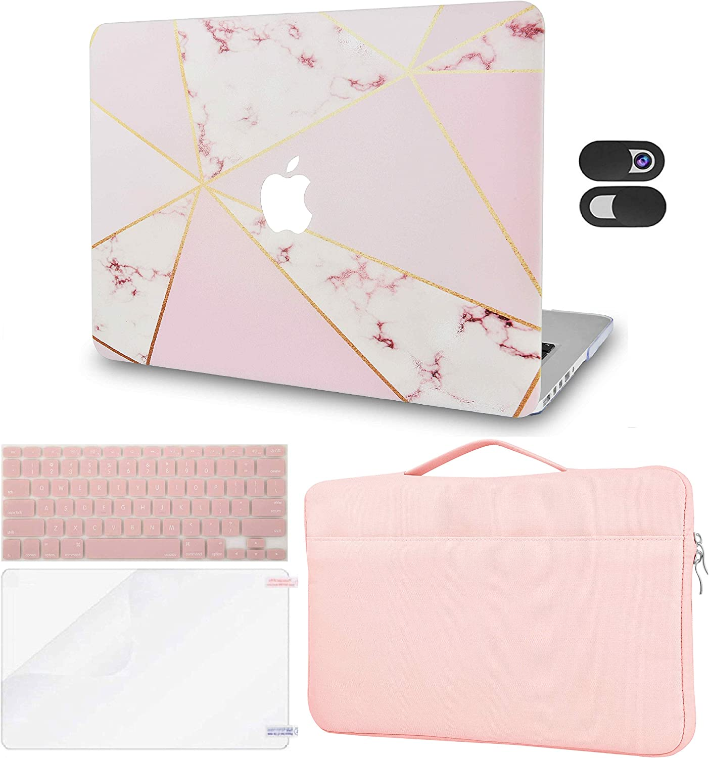 LuvCase 5in1 Laptop Case Compatible with MacBook Air 13
