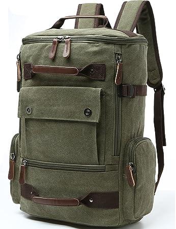 fb87261690ee Amazon.com  Canvas Backpack