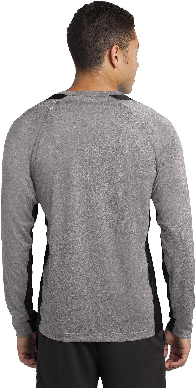Sport-Tek Men/'s Long Sleeve Stitching Polyester Basic Tee XS-4XL ST361LS
