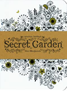 Secret Garden Three Mini Journals