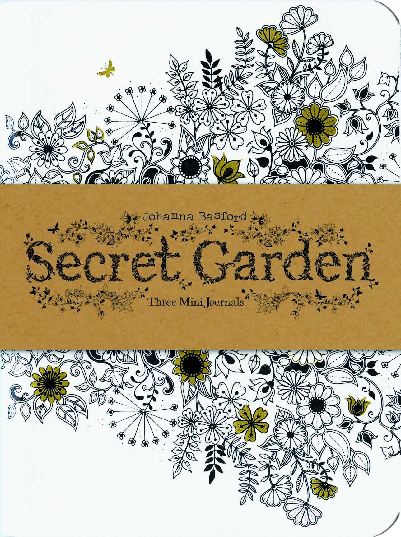 Amazon.com: Secret Garden: Three Mini Journals (9781856699488 ...