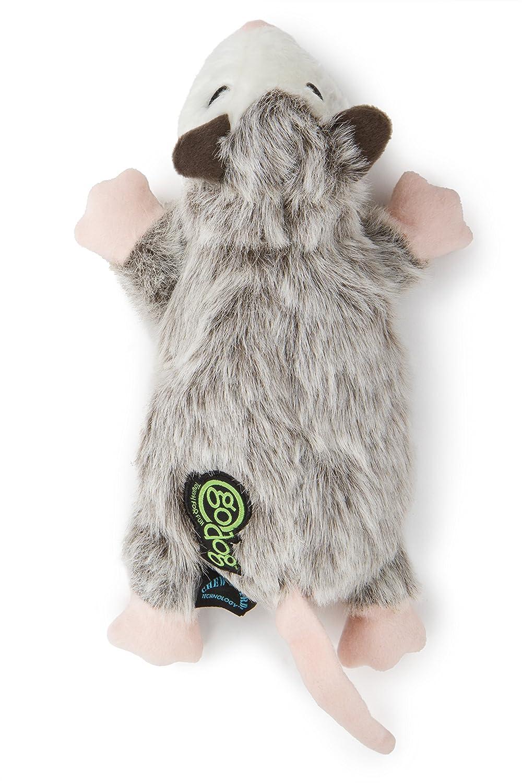 goDog Flatz Dog Toy with Chew Guard