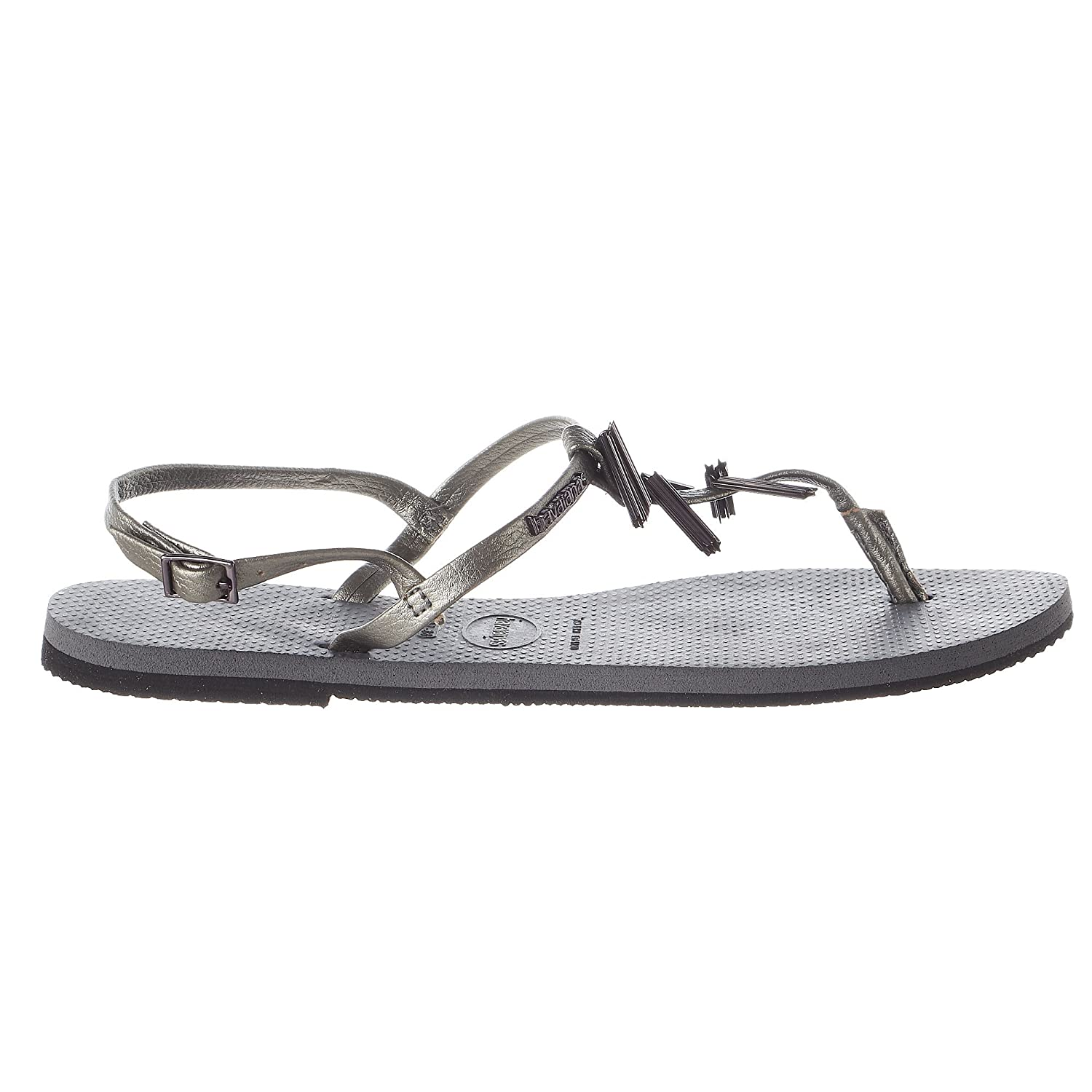 05cef9647639f Havaianas Women s You Riviera Maxi Sandals Steel Grey 41-42 M Bra   Amazon.co.uk  Shoes   Bags