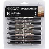 Winsor & Newton BrushMarker 6 Skin Tones Set