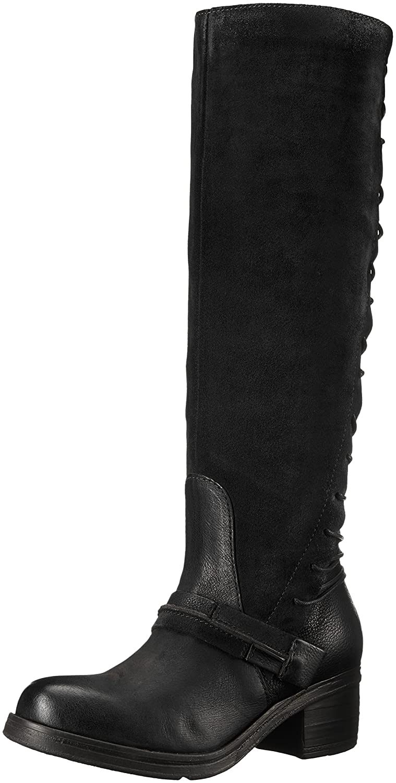 Miz Mooz Women's Shankara Riding Boot B01EI0XLYY 39 M EU (8.5-9 US)|Black