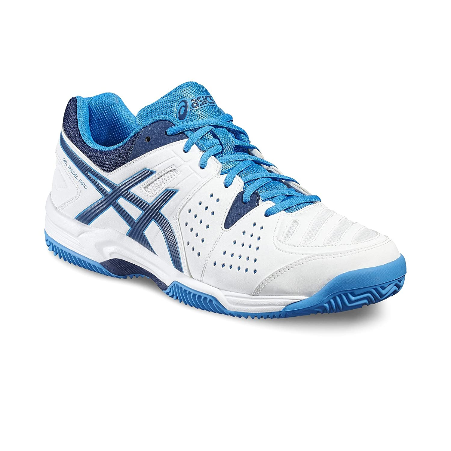 1a0def373d ASICS - GEL PADEL PRO 3 GS, White, Size UK-9.5: Amazon.co.uk: Sports ...