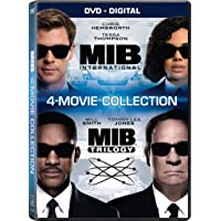Deals on Men in Black 1 - 4 bundle UHD Digital