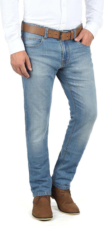 Fit Indicode Quebec Jeans Denim Pantaloni da Uomo Elasticizzato Regular