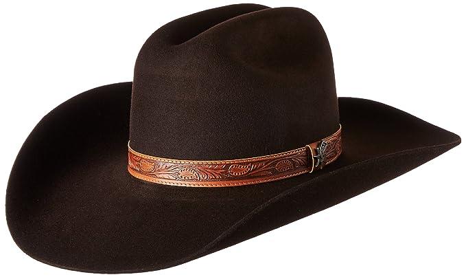 81d962228db09 Bailey Western Men's Ramsey Western Cowboy Hat at Amazon Men's ...
