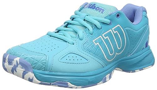 49472631 Wilson Kaos Devo W, Zapatillas de Tenis para Mujer, Azul (Blue  Curacao/Bluebird/Silver Lake B 000), 36 1/3 EU: Amazon.es: Zapatos y  complementos