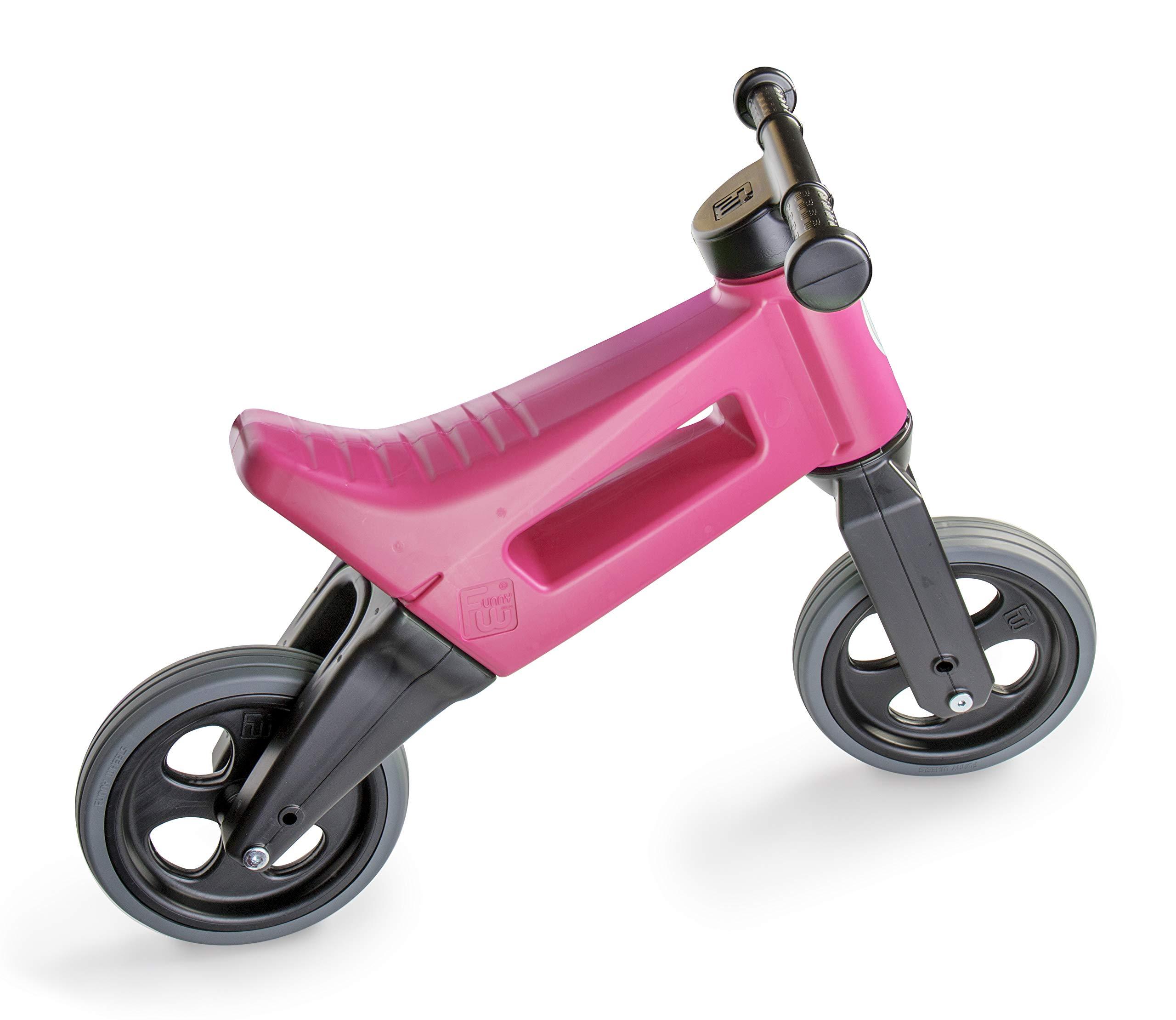 PlayMonster Free Wheelin' Rider Convertible Balance Bike, Pink by PlayMonster (Image #2)