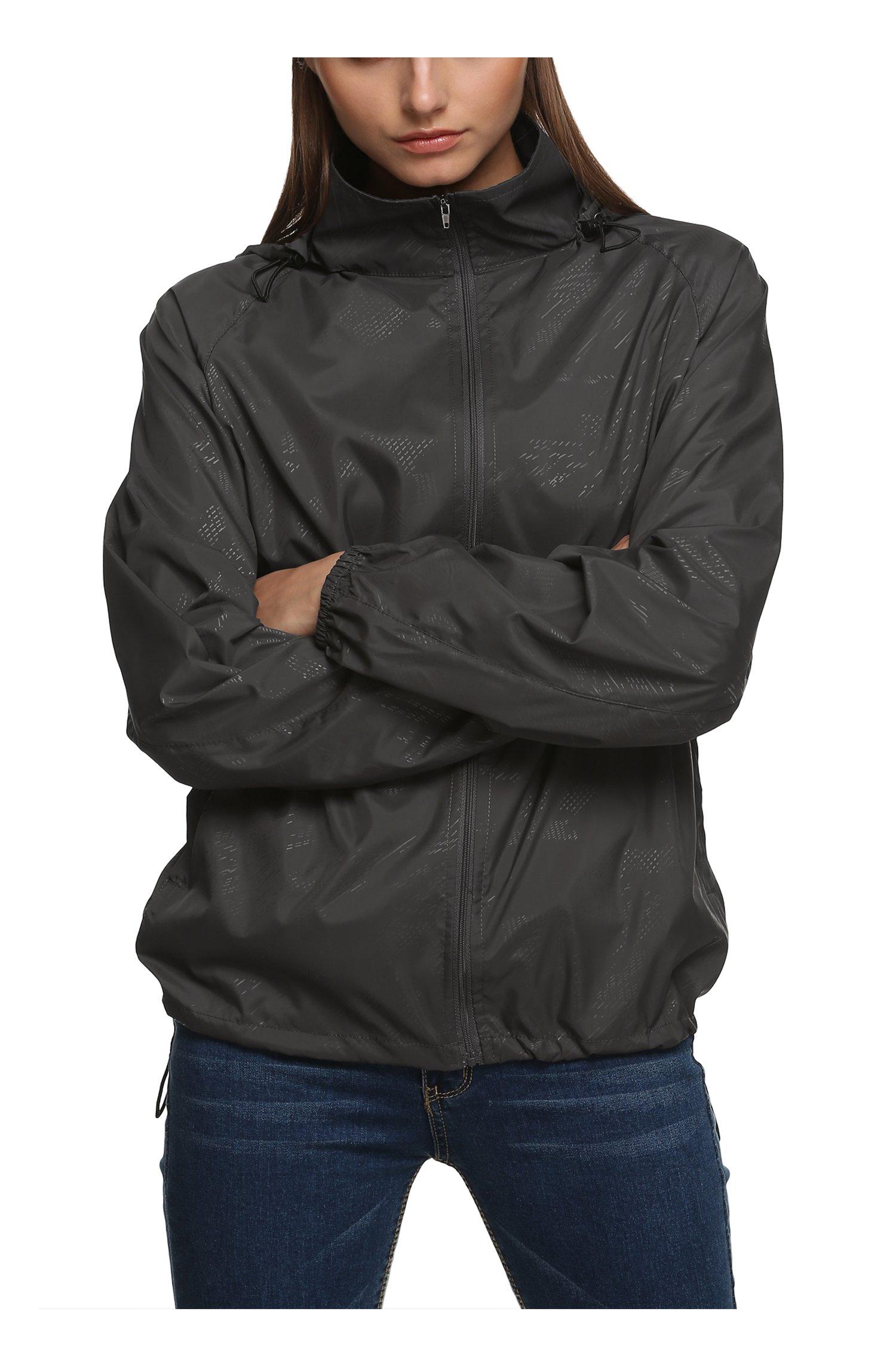 Men S Golf Rain Jacket Waterproof Amazon Com