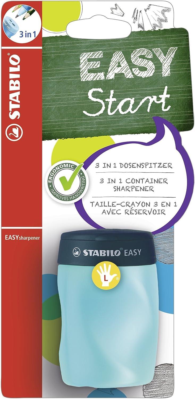 STABILOEasy Left Handed Blister Sharpener - Petrol STABILO International GmbH B-50302-3