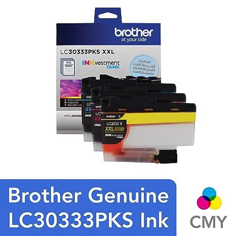 Amazon.com: Brother LC30333PKS - Juego de 3 cartuchos de ...