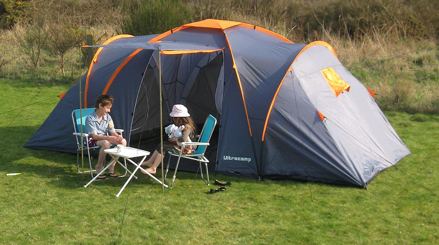 Ultrac& Churchill 6 Berth / Man Large Family C&ing Tent Amazon.co.uk Sports u0026 Outdoors & Ultracamp Churchill 6 Berth / Man Large Family Camping Tent ...
