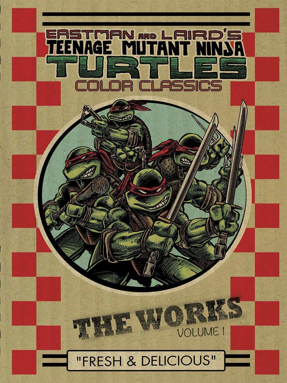 Teenage Mutant Ninja Turtles: The Works Volume 1: Amazon.es ...